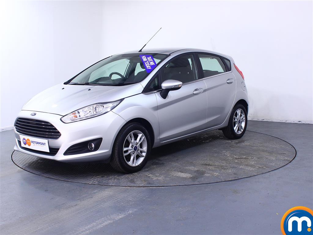 Ford Fiesta Zetec - Stock Number (1037899) - Passenger side front corner