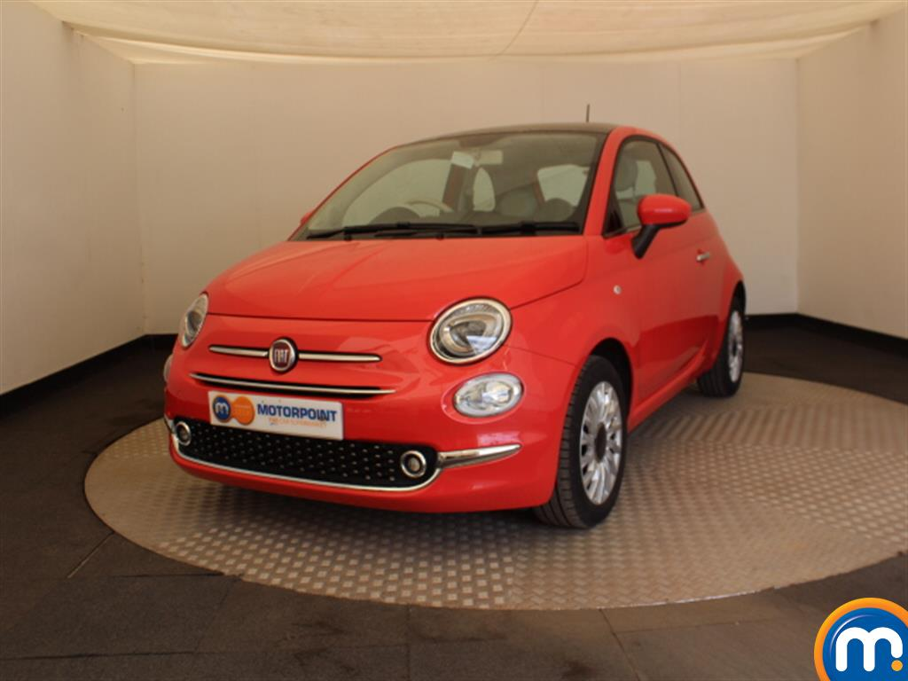 Fiat 500 Lounge - Stock Number 1036615 Passenger side front corner