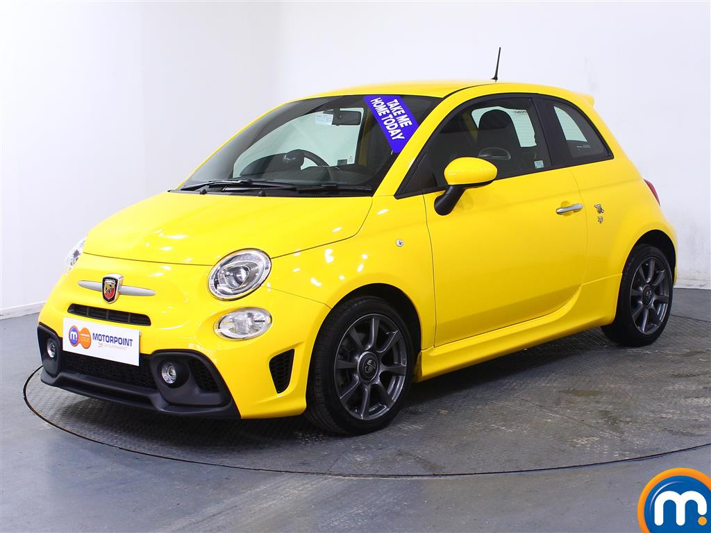 Abarth 595 1.4 T-Jet 145 3dr - Stock Number 1035222 Passenger side front corner