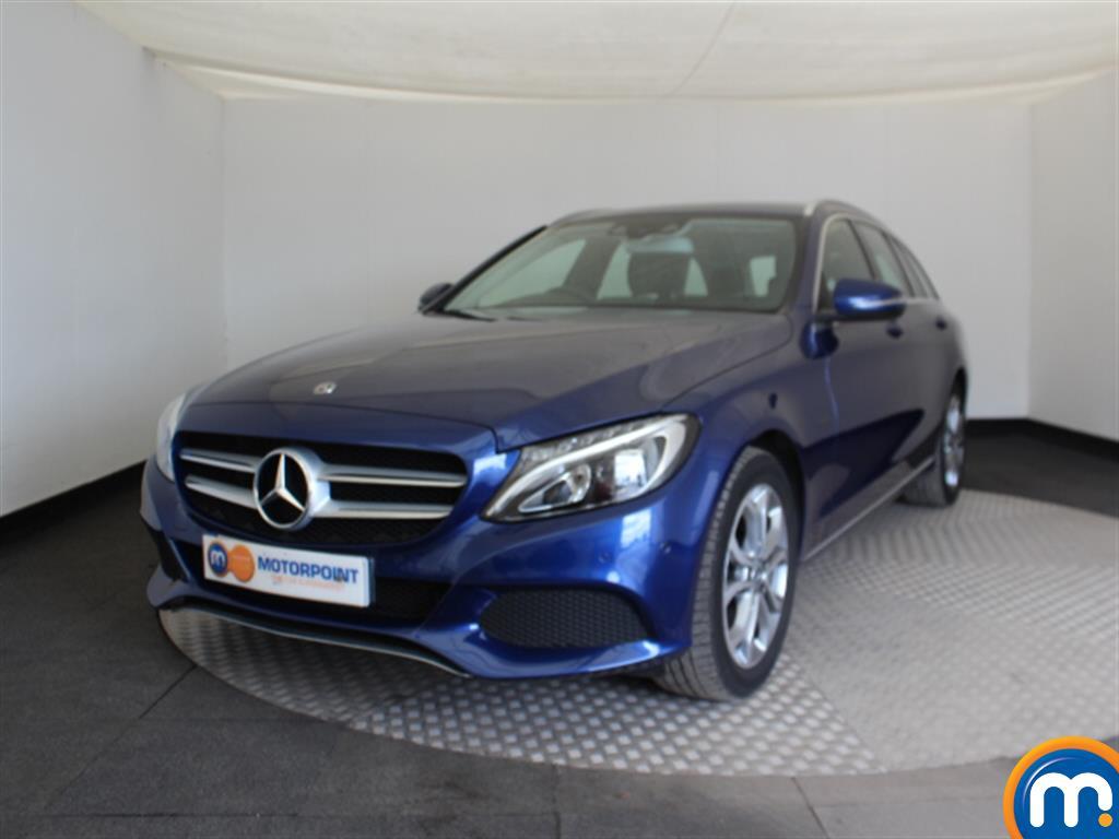 Mercedes-Benz C Class Sport - Stock Number (1039431) - Passenger side front corner