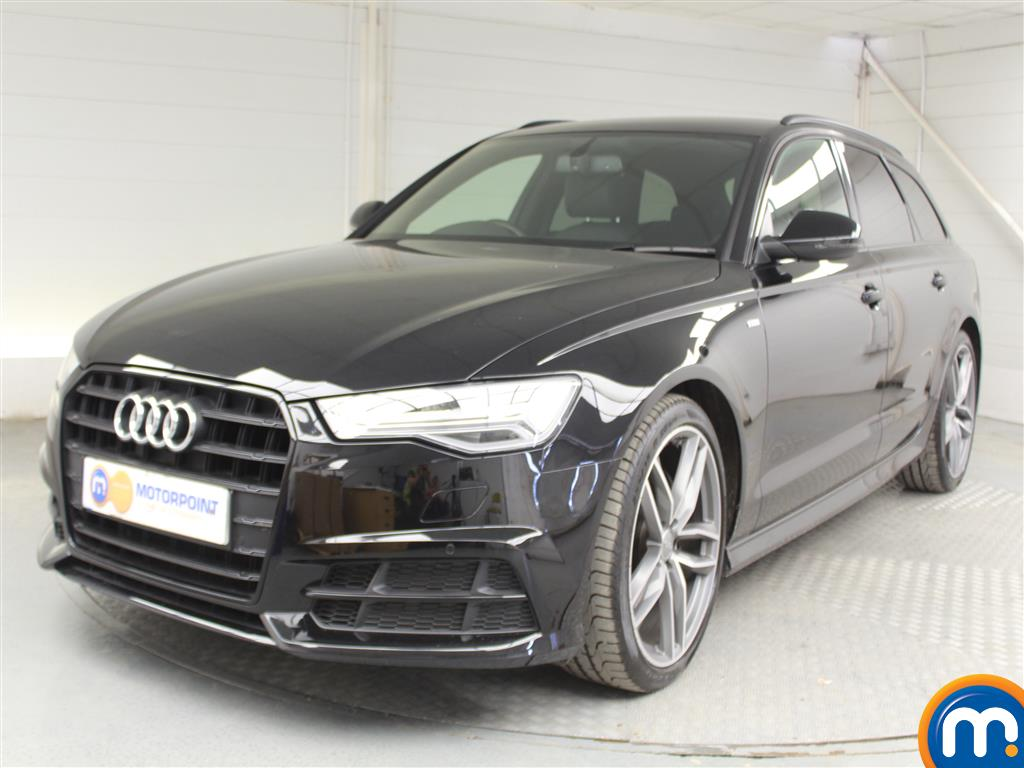 Audi A6 Black Edition - Stock Number 1035448 Passenger side front corner