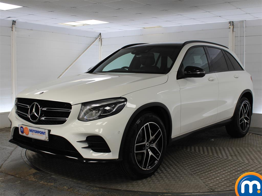 Mercedes-Benz GLC Night Edition - Stock Number (1040253) - Passenger side front corner