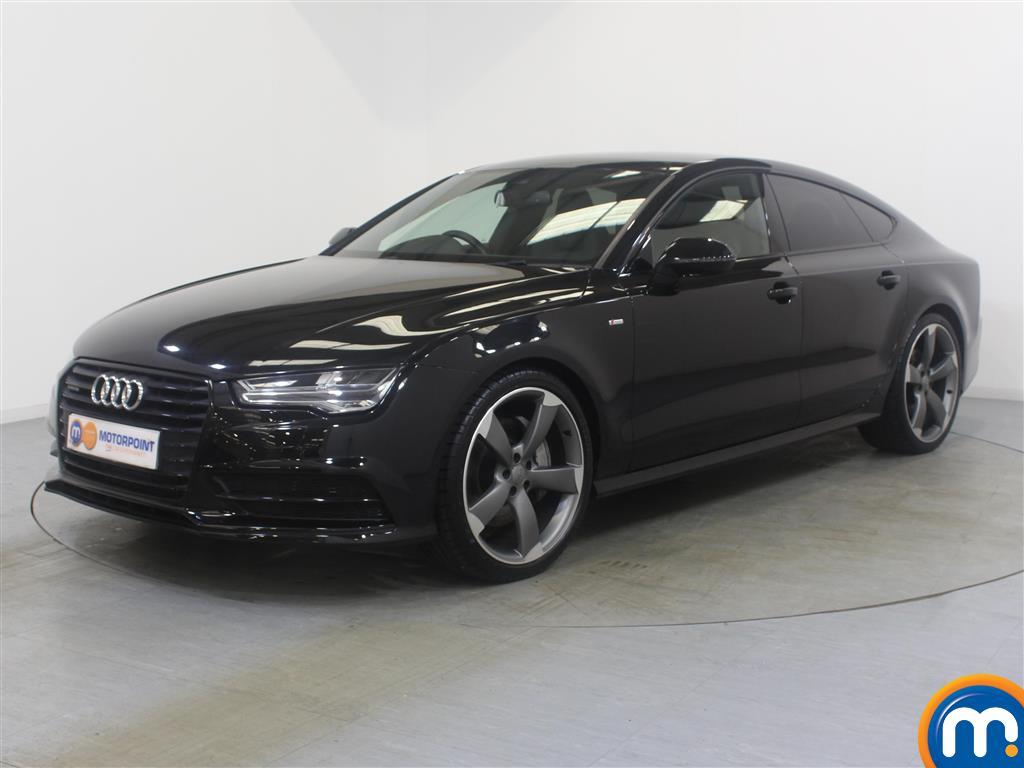 Audi A7 Black Edition - Stock Number (1037532) - Passenger side front corner