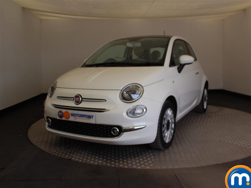 Fiat 500 Lounge - Stock Number 1041508 Passenger side front corner