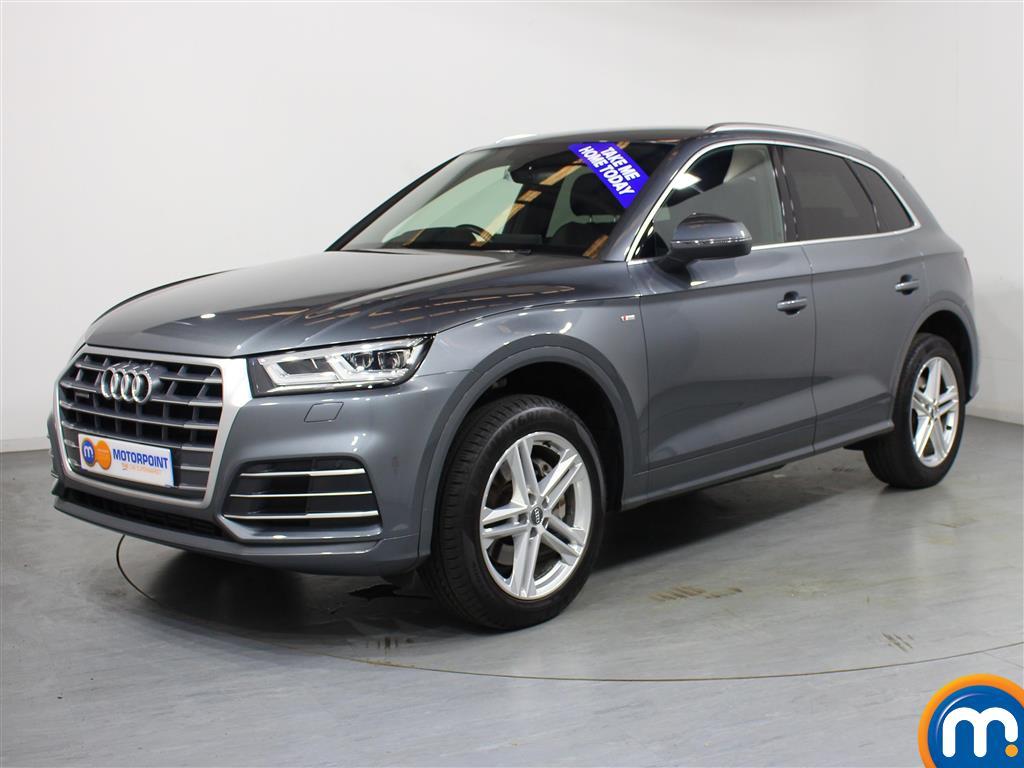 Audi Q5 S Line - Stock Number 1037650 Passenger side front corner