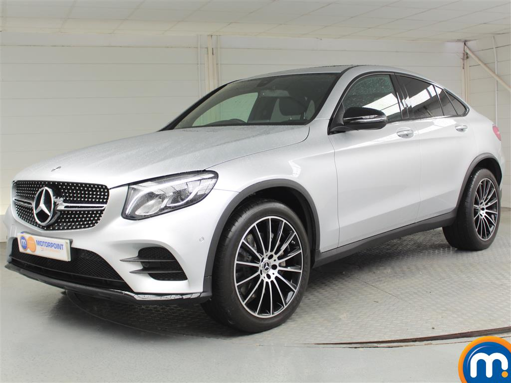 Mercedes-Benz Glc Coupe AMG Line - Stock Number 1039642 Passenger side front corner