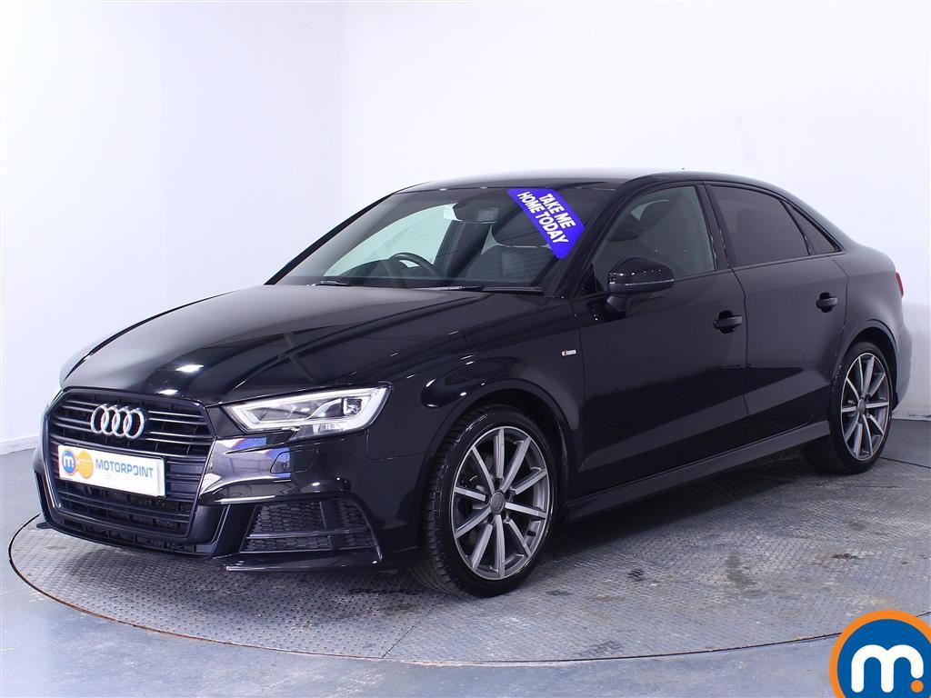 Audi A3 Black Edition - Stock Number 1036174 Passenger side front corner