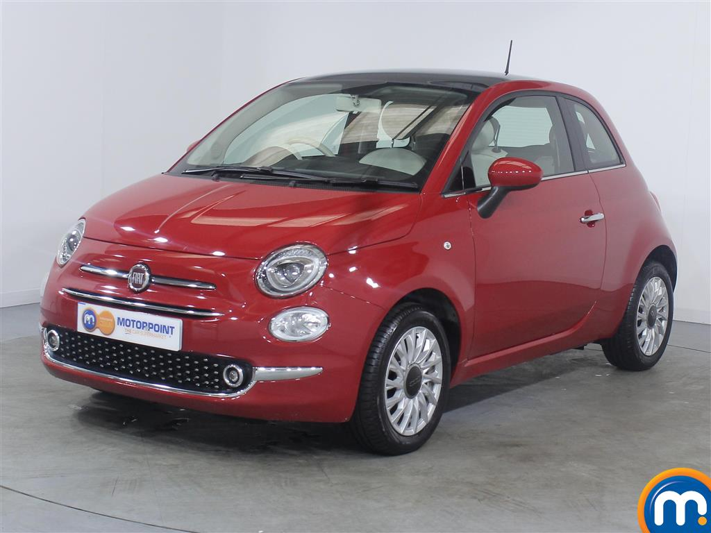 Fiat 500 Lounge - Stock Number (1039718) - Passenger side front corner