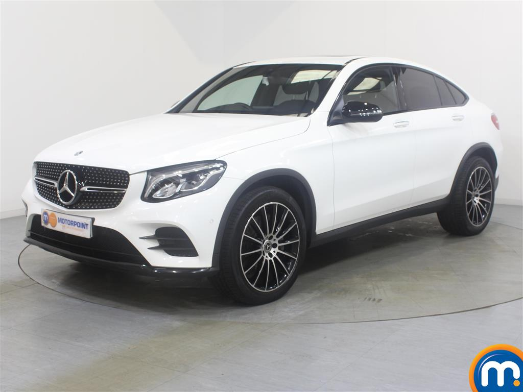 Mercedes-Benz Glc Coupe AMG Line - Stock Number 1039761 Passenger side front corner