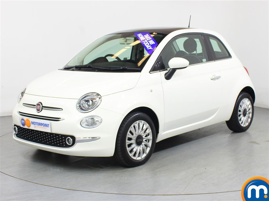 Fiat 500 Lounge - Stock Number 1036649 Passenger side front corner
