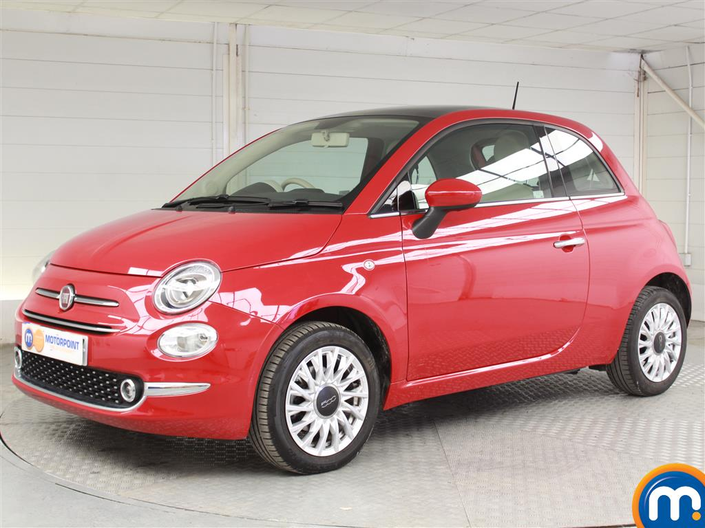 Fiat 500 Lounge - Stock Number 1039720 Passenger side front corner