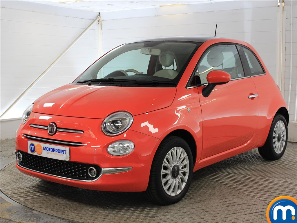 Fiat 500 Lounge - Stock Number (1036566) - Passenger side front corner