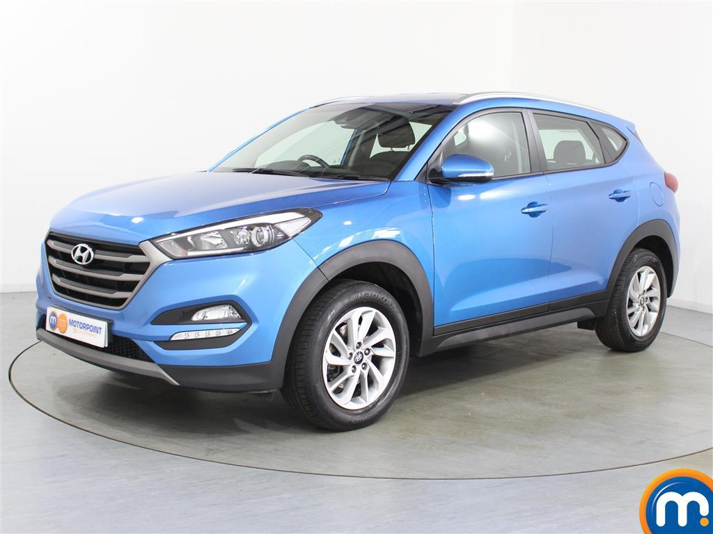 Hyundai Tucson SE - Stock Number (1032476) - Passenger side front corner