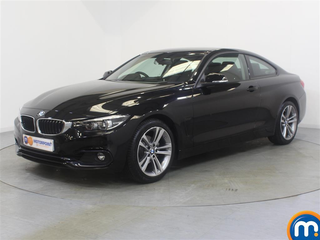 BMW 4 Series Sport - Stock Number (1036911) - Passenger side front corner