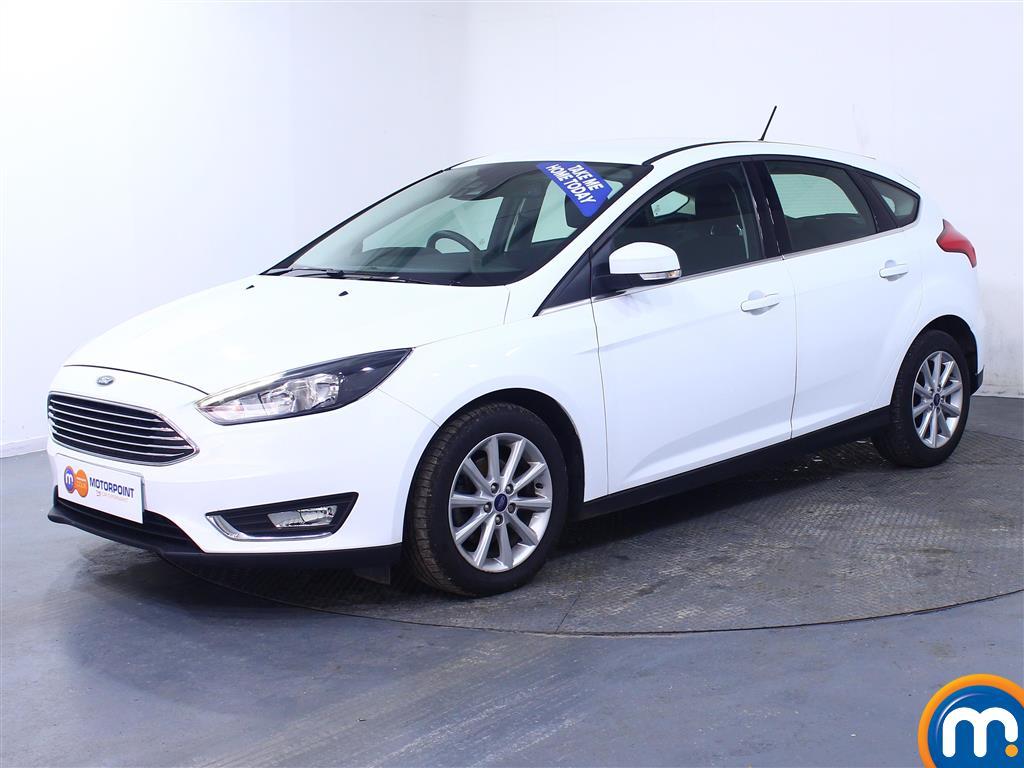 Ford Focus Titanium - Stock Number 1005593 Passenger side front corner