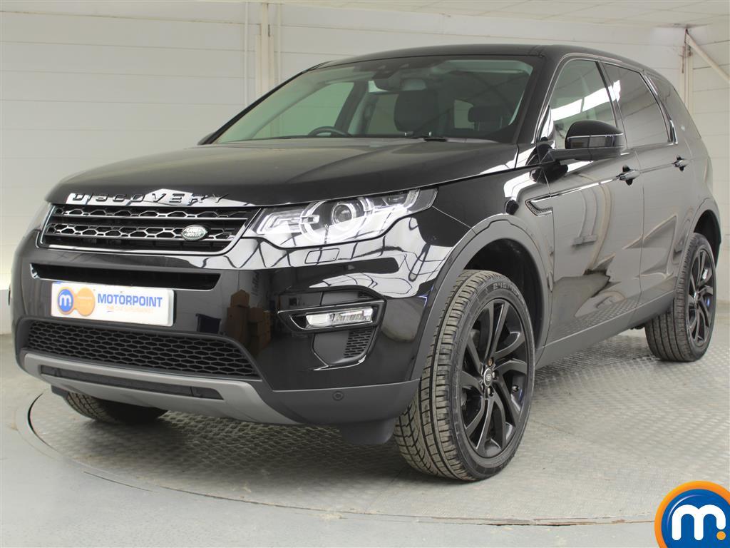 Land Rover Discovery Sport HSE Black - Stock Number (1039337) - Passenger side front corner