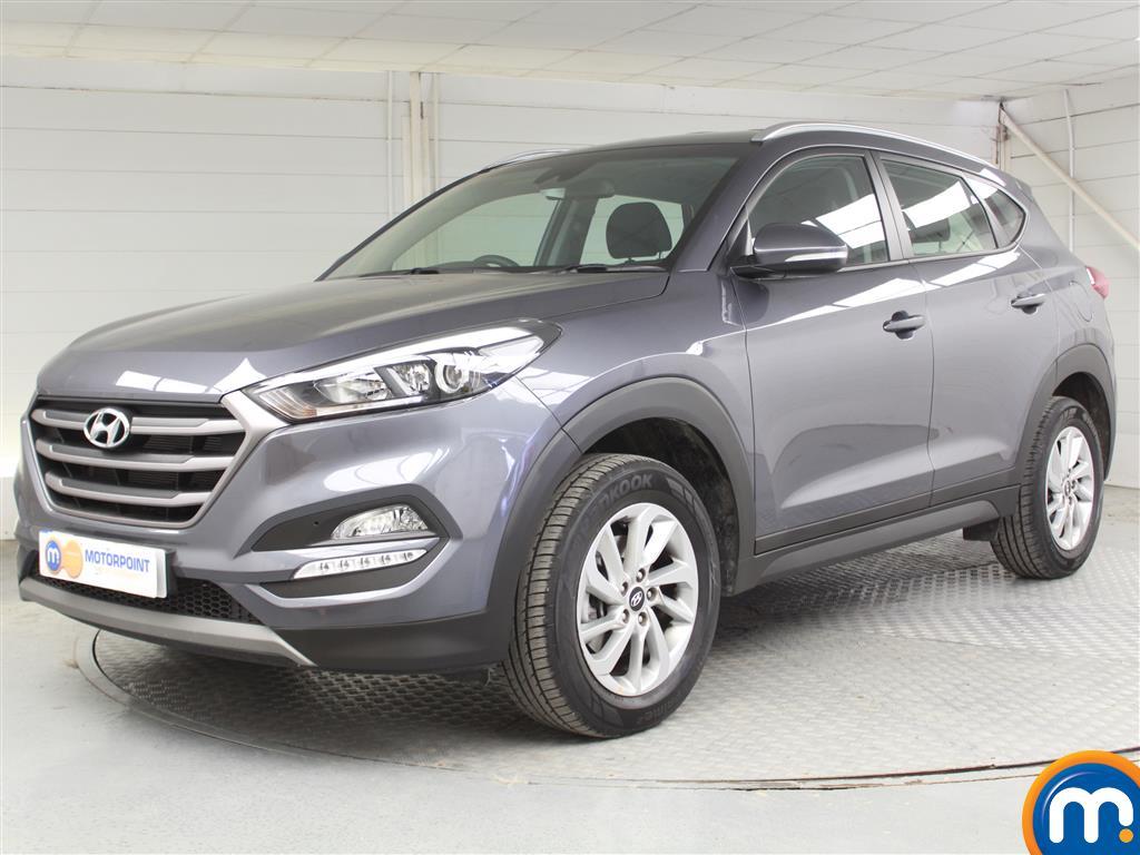 Hyundai Tucson SE - Stock Number (1039899) - Passenger side front corner
