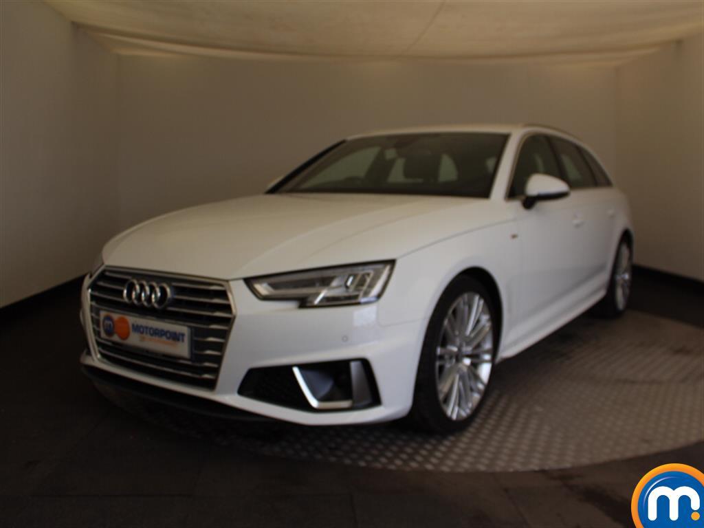 Audi A4 S Line - Stock Number (1042040) - Passenger side front corner