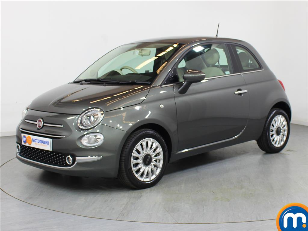 Fiat 500 Lounge - Stock Number 1039366 Passenger side front corner