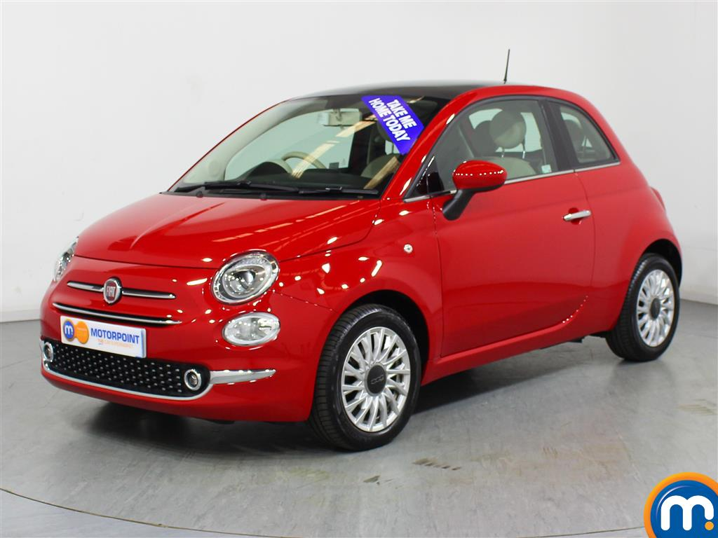 Fiat 500 Lounge - Stock Number 1039728 Passenger side front corner