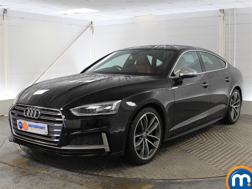 Audi A5 S5 - Stock Number 1040260 Passenger side front corner