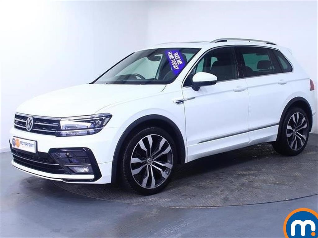 Volkswagen Tiguan R Line - Stock Number 1040486 Passenger side front corner
