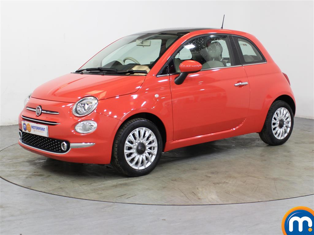 Fiat 500 Lounge - Stock Number 1036586 Passenger side front corner