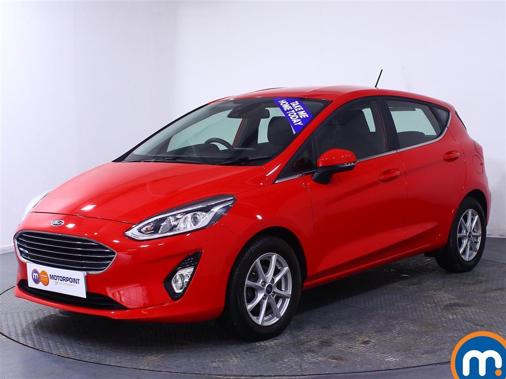 Ford Fiesta Zetec - Stock Number (1039990) - Passenger side front corner