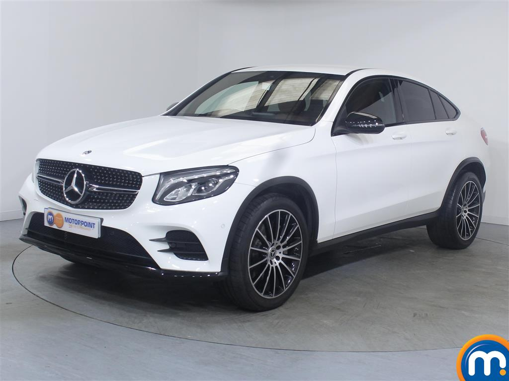 Mercedes-Benz Glc Coupe AMG Line - Stock Number 1039636 Passenger side front corner