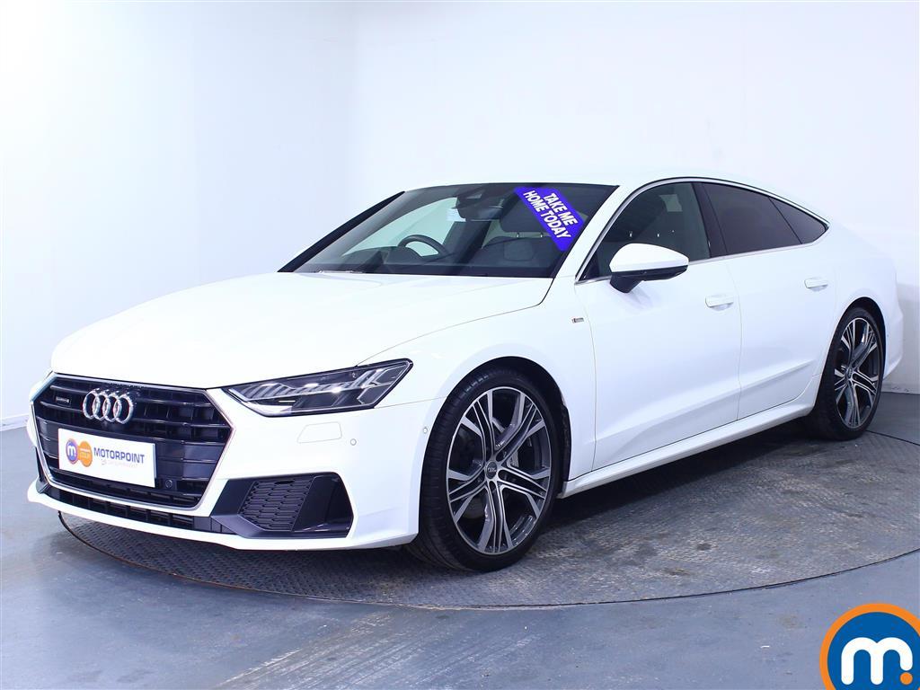 Audi A7 S Line - Stock Number (1043170) - Passenger side front corner