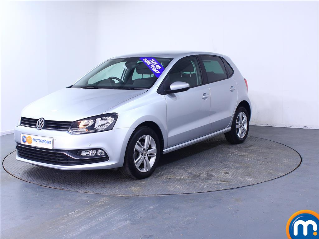 Volkswagen Polo Match Edition - Stock Number 1043192 Passenger side front corner