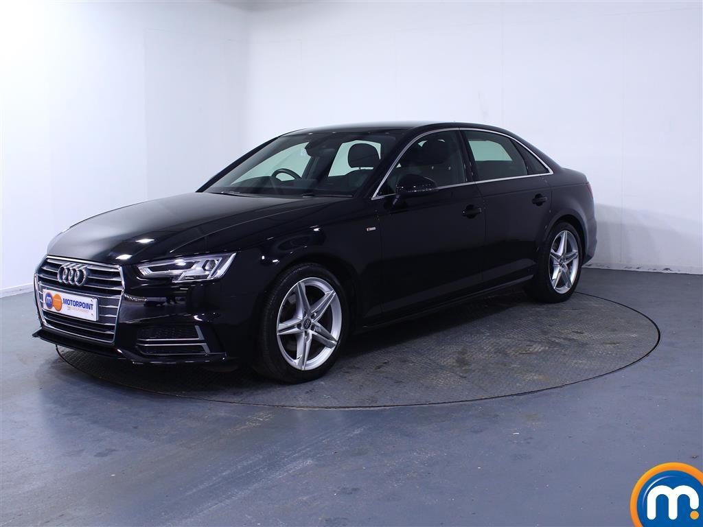 Audi A4 S Line - Stock Number (1041422) - Passenger side front corner