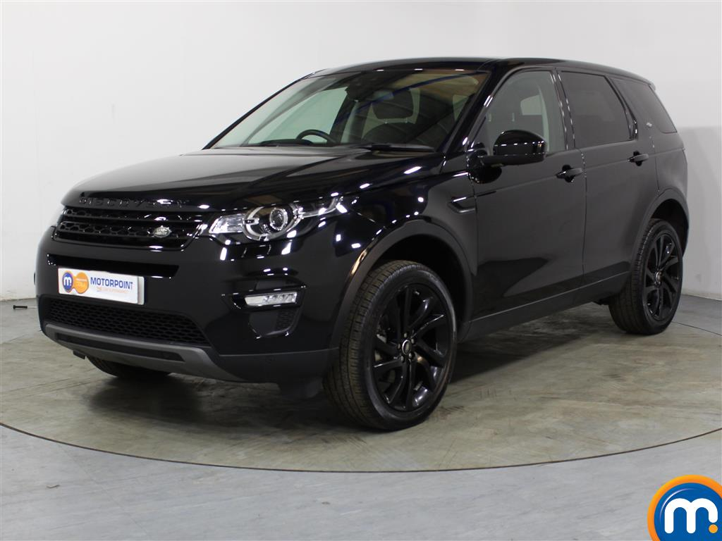 Land Rover Discovery Sport HSE Black - Stock Number (1036000) - Passenger side front corner