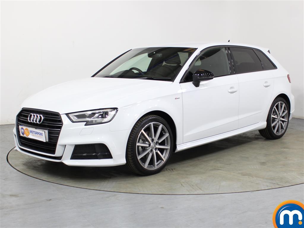 Audi A3 Black Edition - Stock Number 1041849 Passenger side front corner