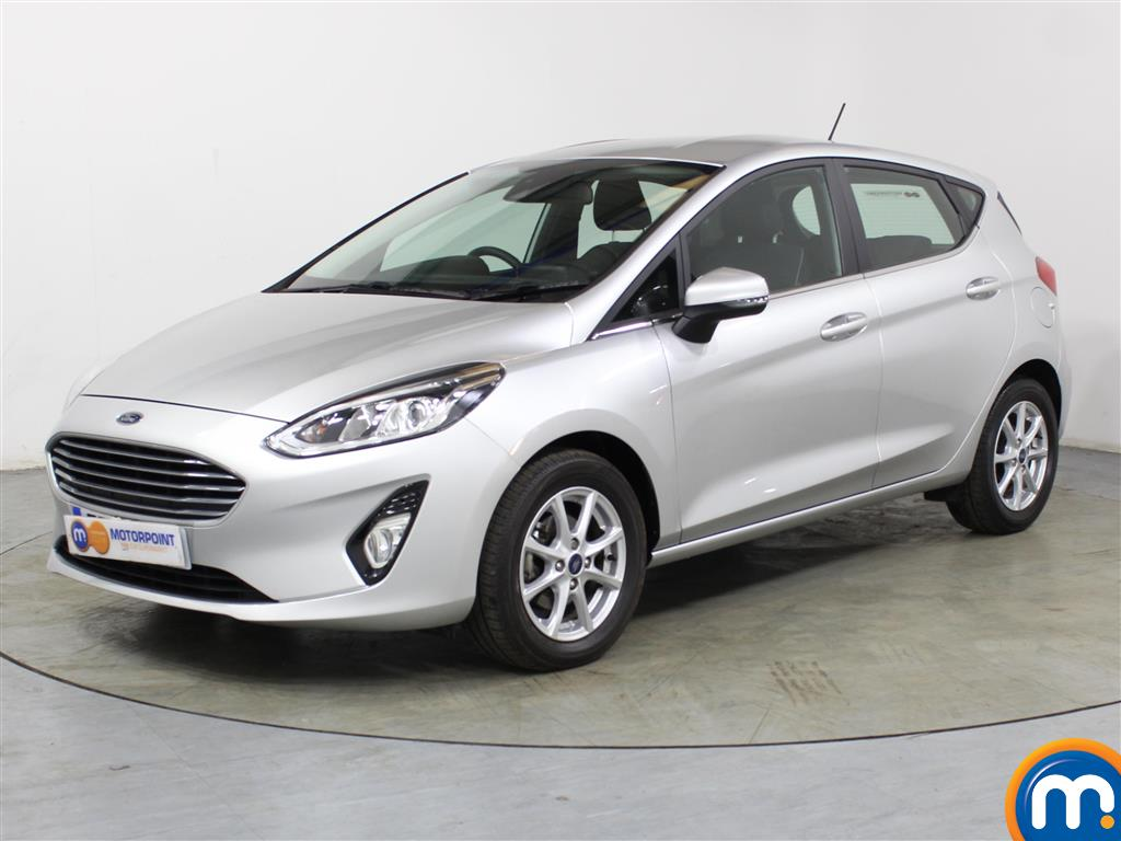 Ford Fiesta Zetec - Stock Number 1035963 Passenger side front corner