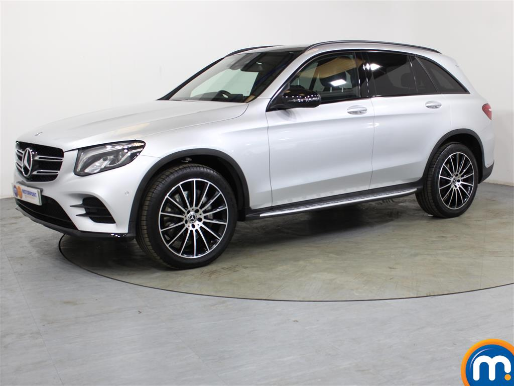 Mercedes-Benz GLC Night Edition - Stock Number (1042069) - Passenger side front corner