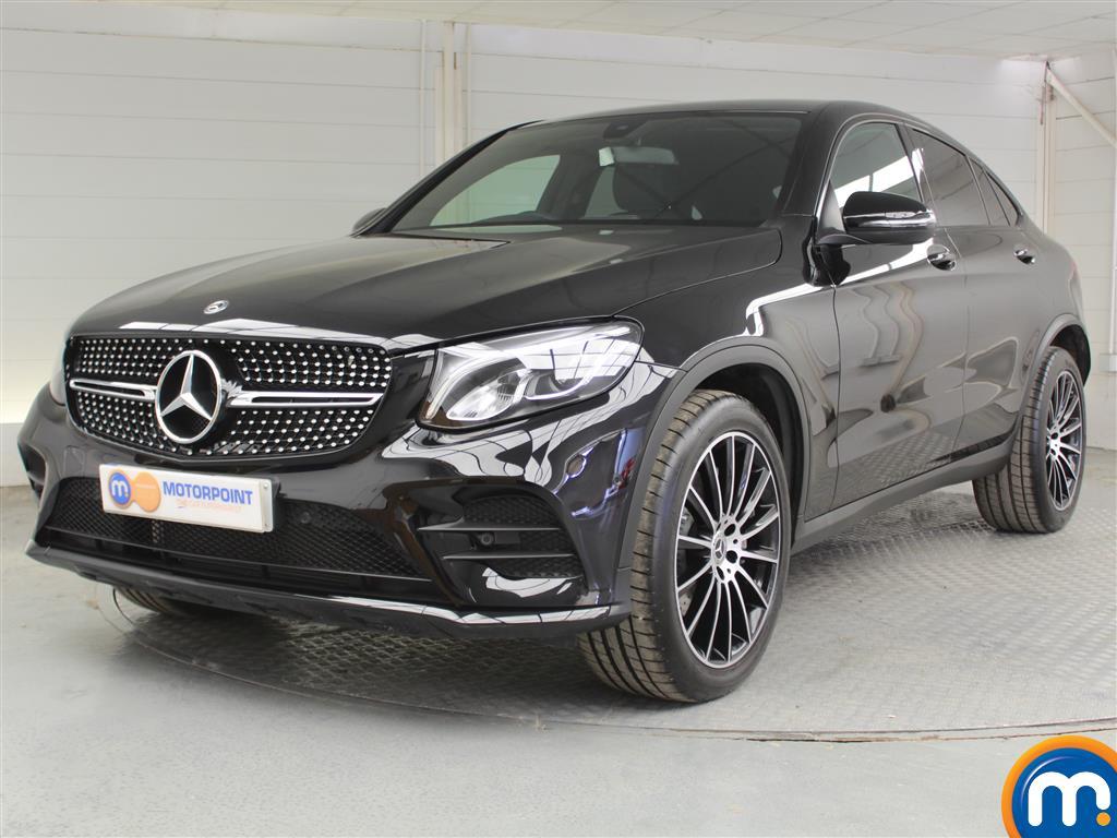 Mercedes-Benz Glc Coupe AMG Line - Stock Number (1041140) - Passenger side front corner