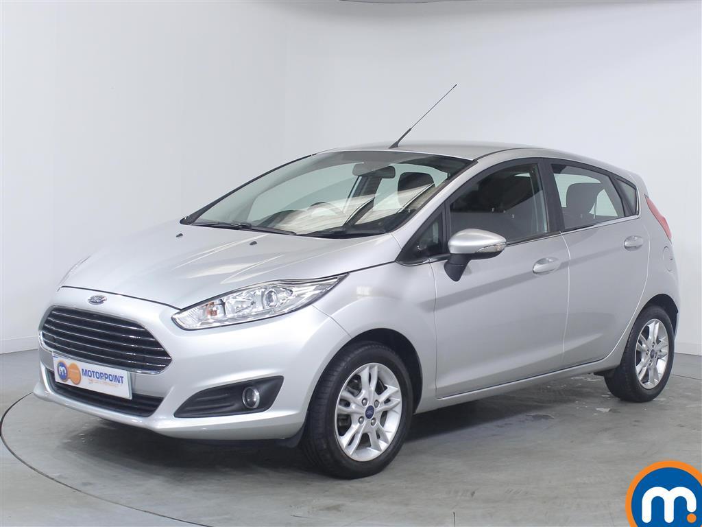 Ford Fiesta Zetec - Stock Number 1043022 Passenger side front corner