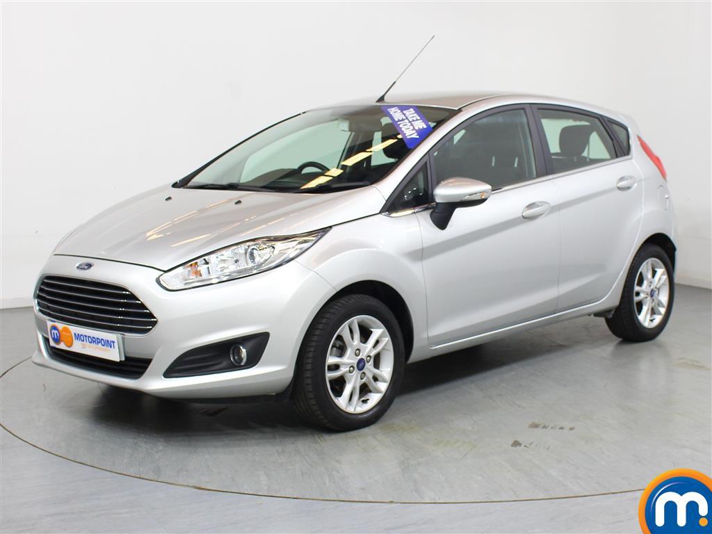 Ford Fiesta Zetec - Stock Number 1043018 Passenger side front corner