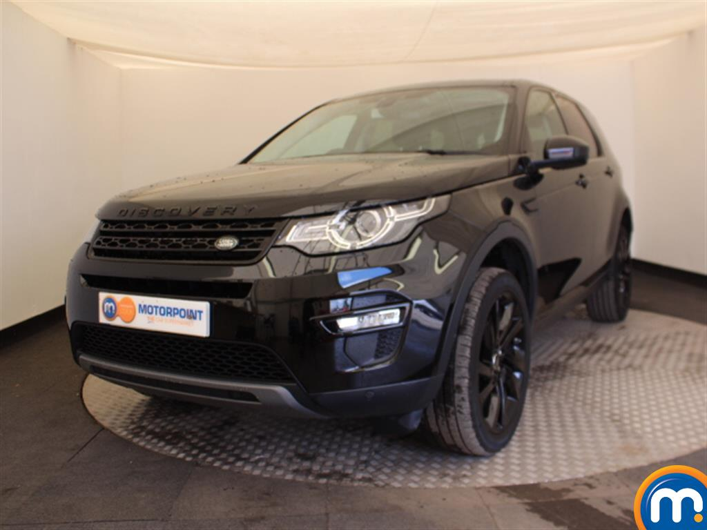 Land Rover Discovery Sport HSE Black - Stock Number (1043500) - Passenger side front corner