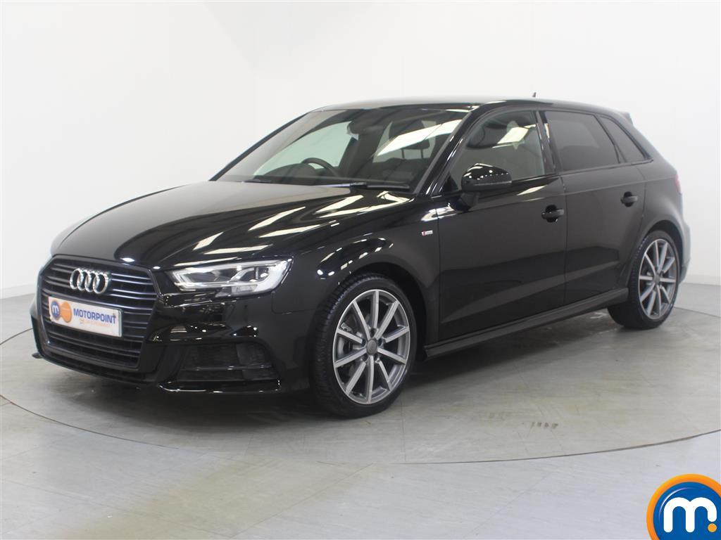Audi A3 Black Edition - Stock Number (1029497) - Passenger side front corner