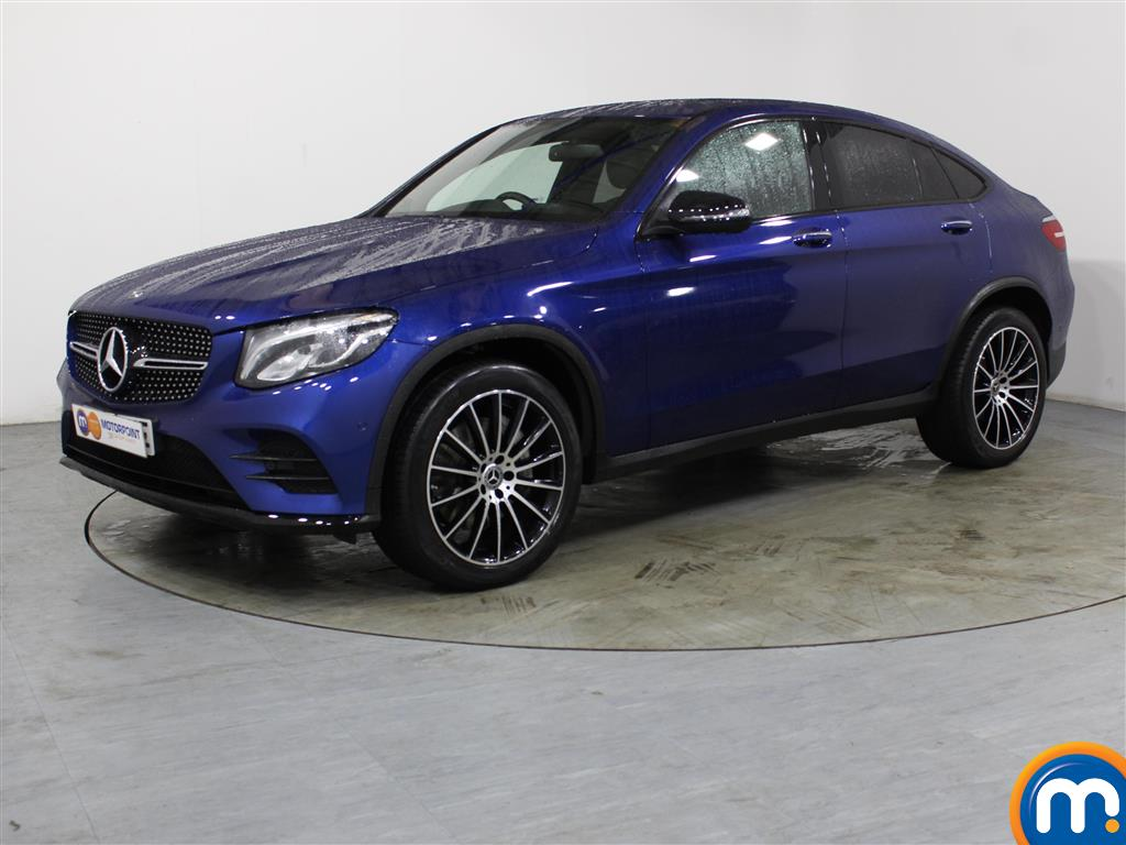 Mercedes-Benz Glc Coupe AMG Line - Stock Number 1041435 Passenger side front corner