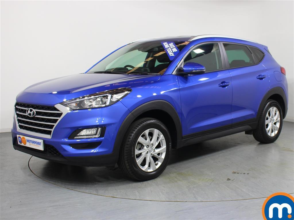 Hyundai Tucson SE Nav - Stock Number 1037091 Passenger side front corner