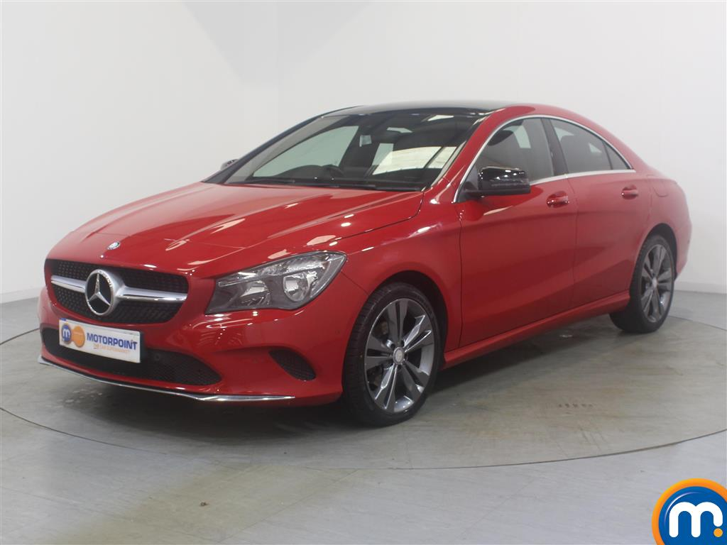 Mercedes-Benz Cla Class Sport - Stock Number (1042358) - Passenger side front corner