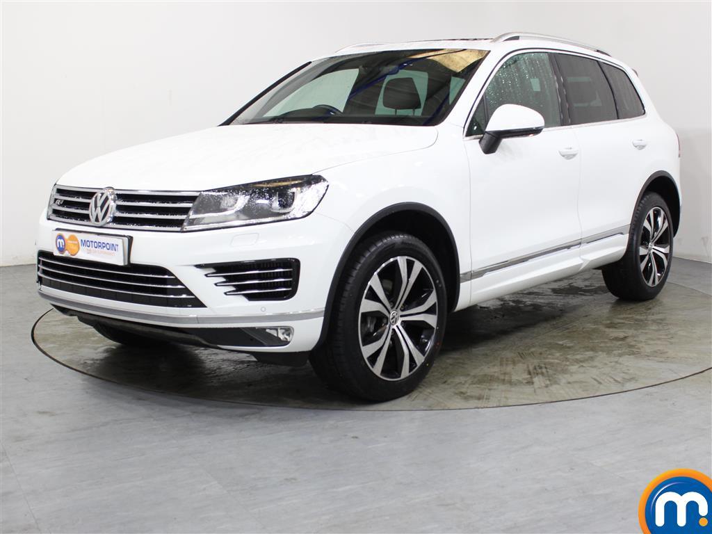 Volkswagen Touareg R Line - Stock Number (1036992) - Passenger side front corner