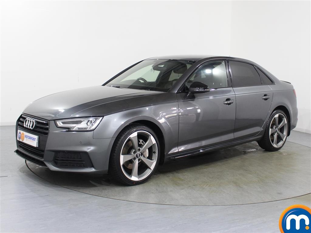 Audi A4 Black Edition - Stock Number 1038165 Passenger side front corner