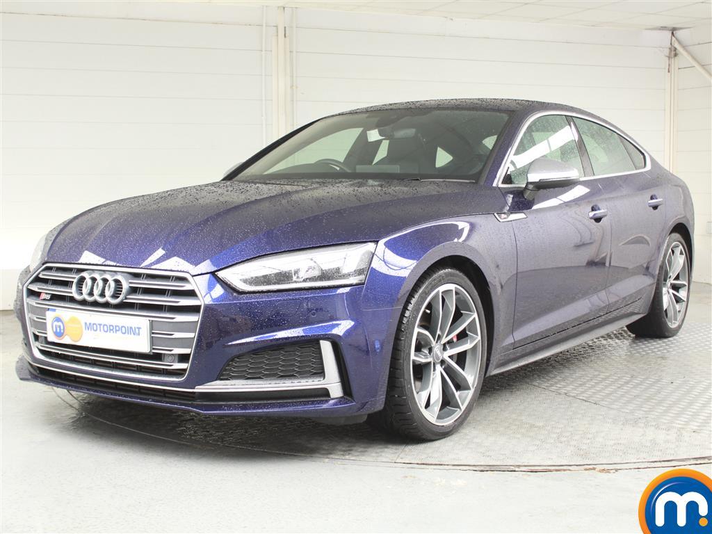 Audi A5 S5 - Stock Number (1037001) - Passenger side front corner