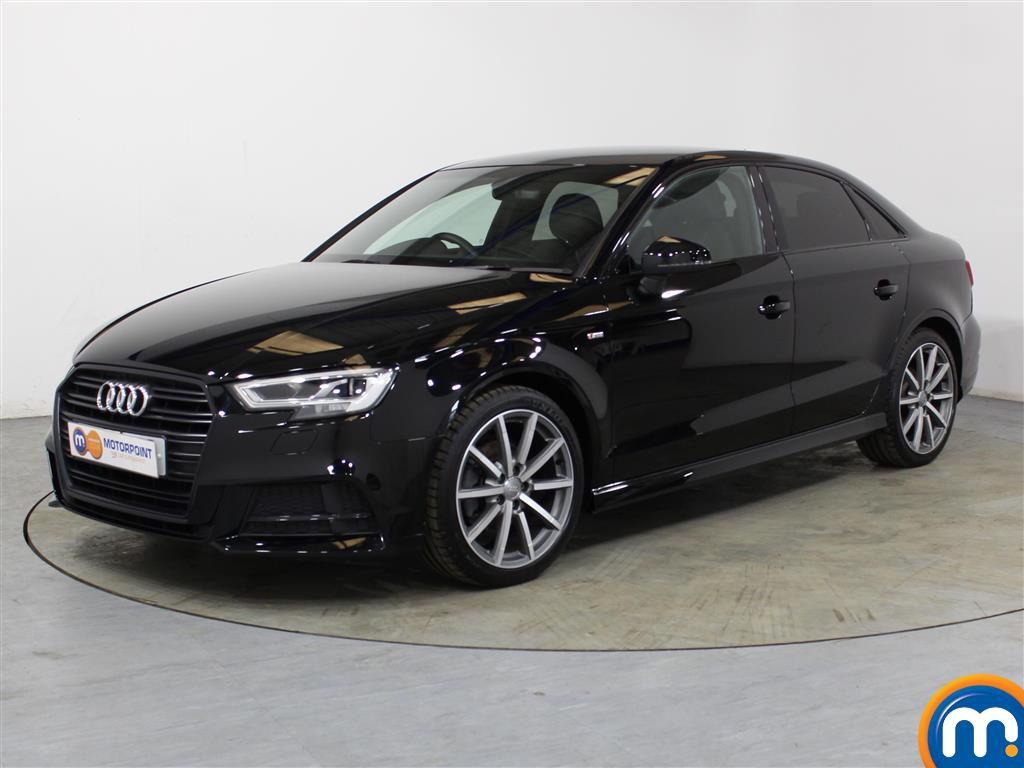 Audi A3 Black Edition - Stock Number (1041167) - Passenger side front corner