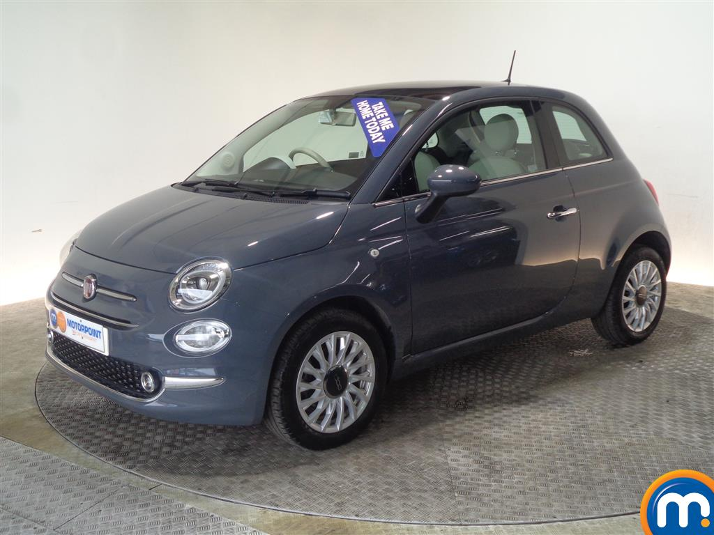Fiat 500 Lounge - Stock Number 1036637 Passenger side front corner