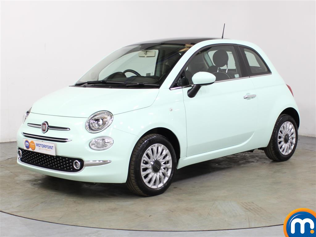 Fiat 500 Lounge - Stock Number (1041507) - Passenger side front corner